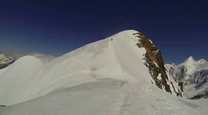 Pollux (4092m) Westface