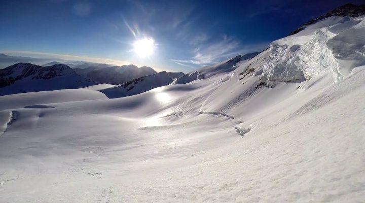 Hohberghorn (4219m) Nordwand