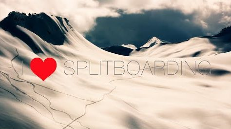 I love splitboarding