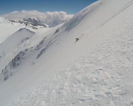 Gwächtenhorn (3404m) Nordostwand