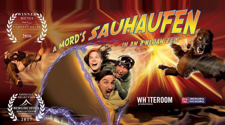 A mord´s Sauhaufen in an z´kloan Zelt