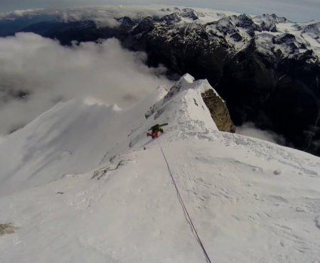 Brunegghorn (3833m) Nordwand