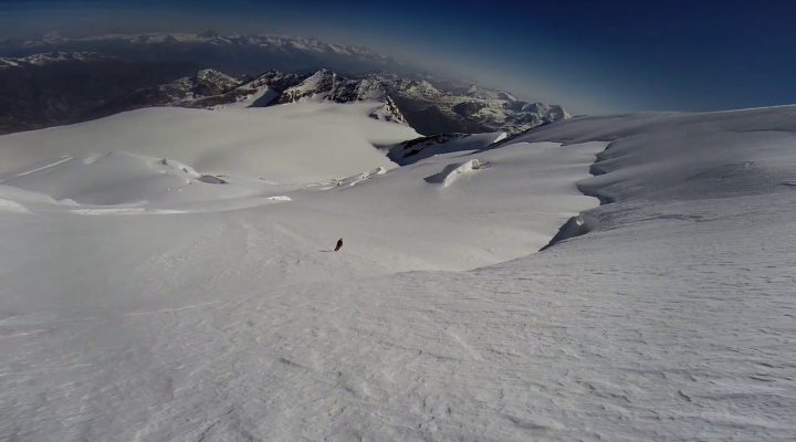 Nadelhorn (4327m) Nordostwand