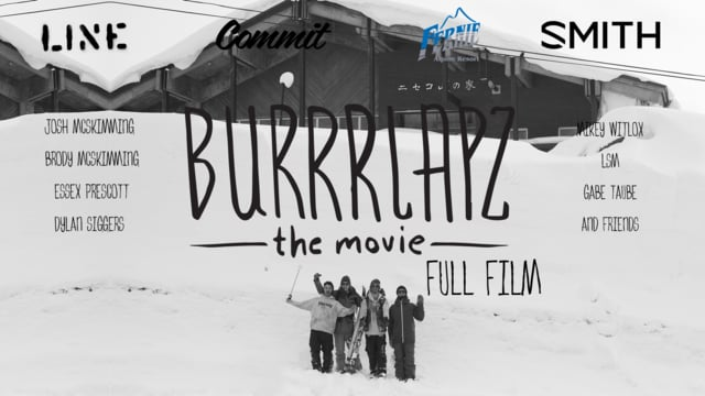 Burrrlapz the movie