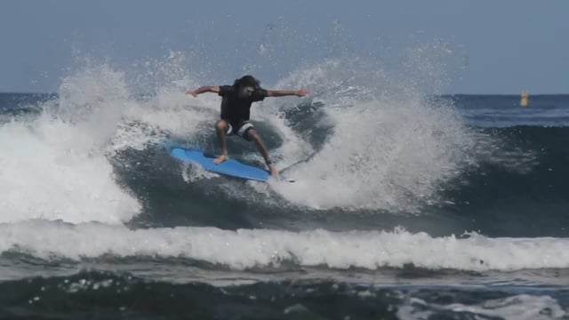 Adrien Toyon cruising back home