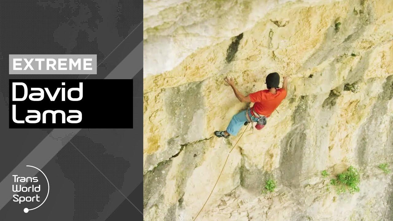 David Lama - Amazing 9a Climb in Lebanon | freshies tv
