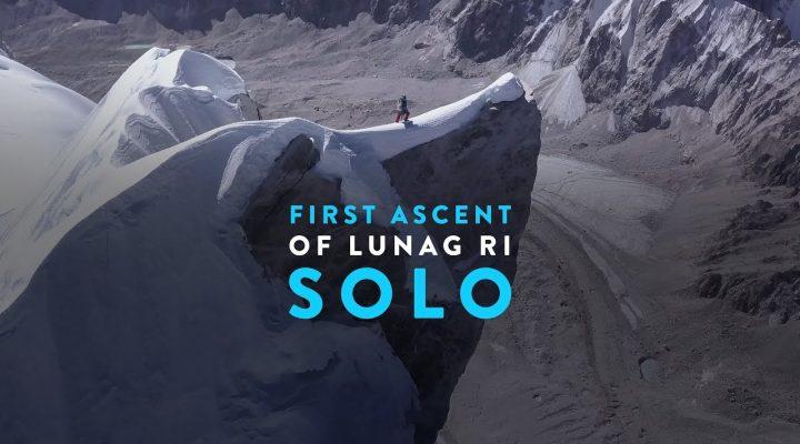First Ascent of Lunag Ri – Solo