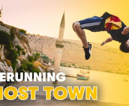 Freerunning a ghost town in Turkey