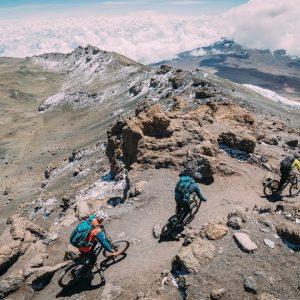 Mt.Kilimanjaro & Mt. Kenya on mountainbike