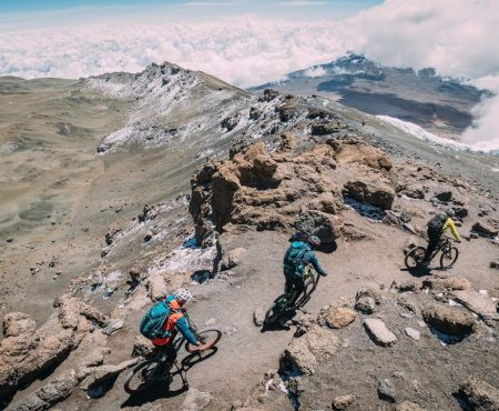 Mt.Kilimanjaro & Mt. Kenya on mountainbike
