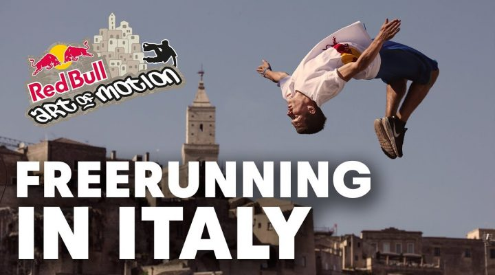 Matera – a freerunners dream