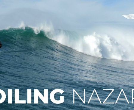 Foiling in Nazare