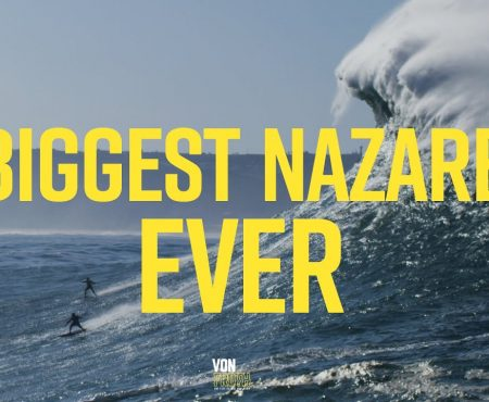 BIggest Nazaré ever