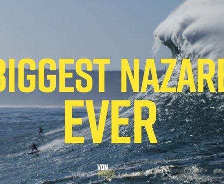 BIggest Nazaré ever